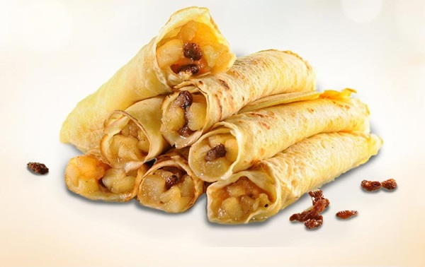 recipe image Crepes con manzana