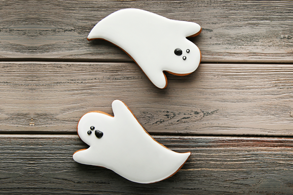 recipe image Galletas fantasma